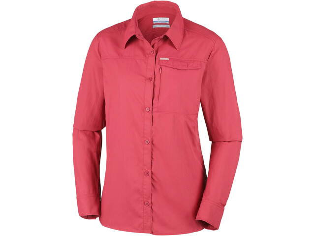 Columbia Silver Ridge 2.0 Langærmet T-shirt Damer, red coral